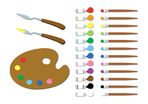 Paint, all color set (with shadow)