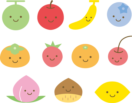 Fruit smile set