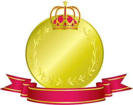 Crown medal 3