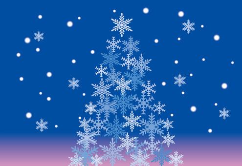 Snow Crystal Tree