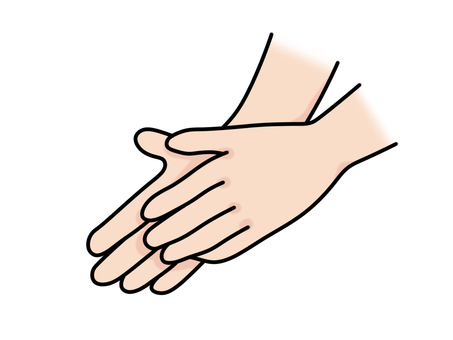 Hand washing hand