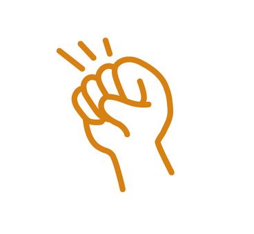 Goo's hand