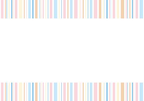 다채로운 줄무늬 프레임