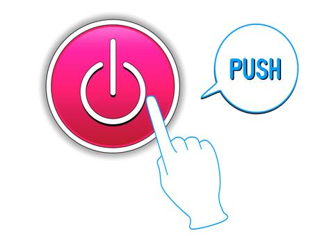 전원 버튼 전원 표시 1