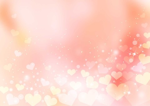 Heart _ pale pink background 1755