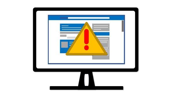웹 페이지 및 오류 표시