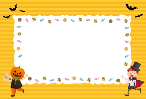 할로윈 사탕 프레임