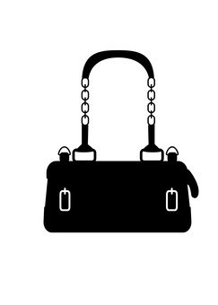 Fashionable bag (silhouette)