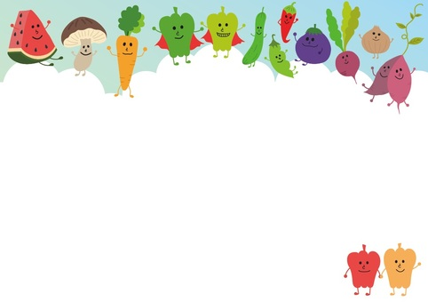 Vegetable Background Stationery
