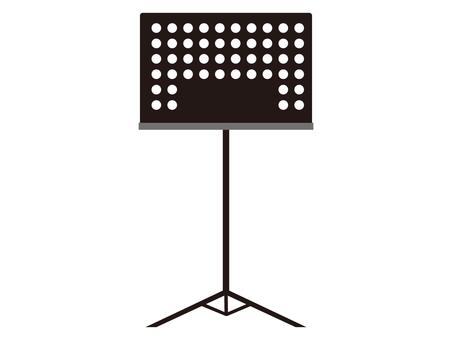 Music score stand