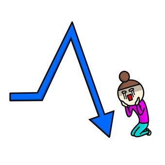 Arrow sudden drop shock
