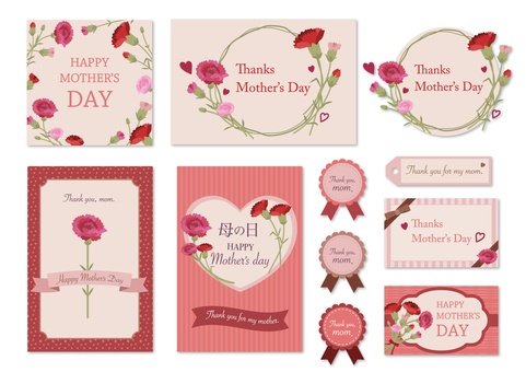 Mother's Day card set