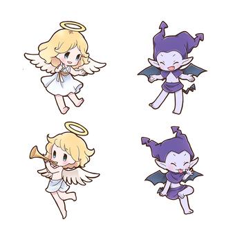 天使と悪魔セット01_A