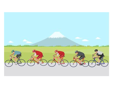 Bicycle road racing