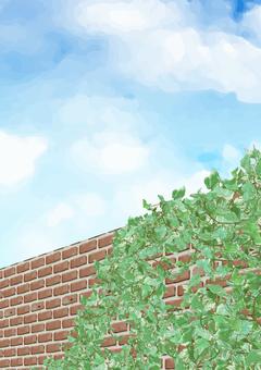 Brick fence (vertical)