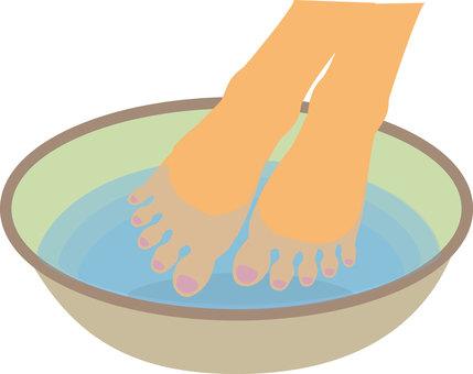 Foot bath ①