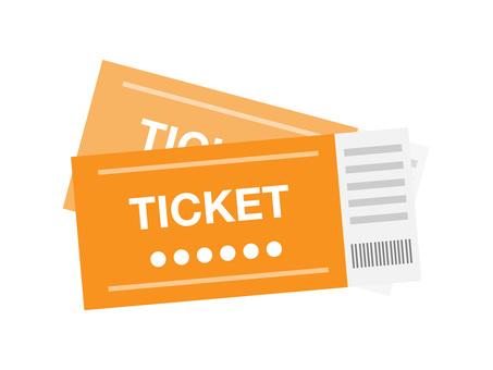 Tickets (Orange · 2 pcs)
