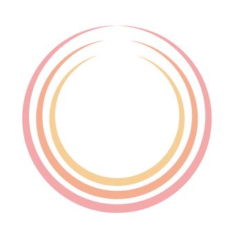 Circular material -24