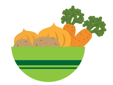 Vegetables in a bowl _ 01