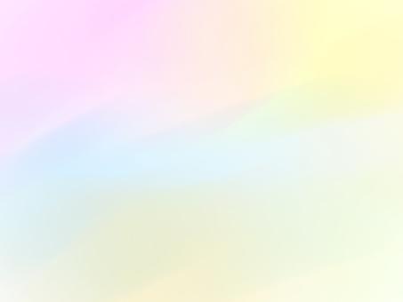 Rainbow color pastel