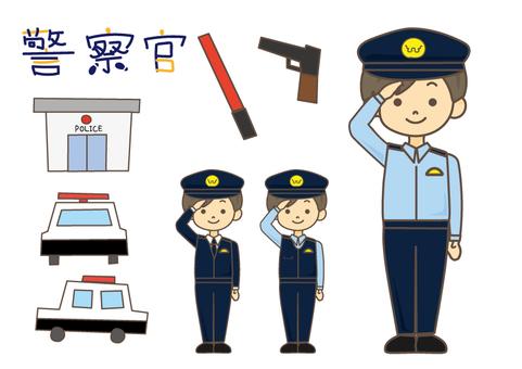 Boys_ police officer