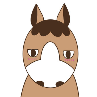 Horse that stares