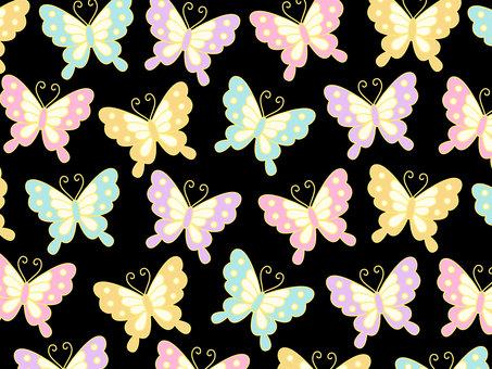 Japanese pattern butterfly pattern