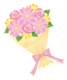 Pink bouquets 1