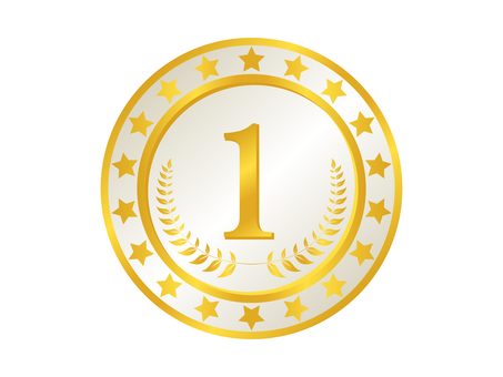 Medal icon 8 gold