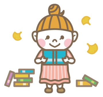 Reading girl