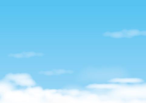Sky _ blue sky _ cloud 6