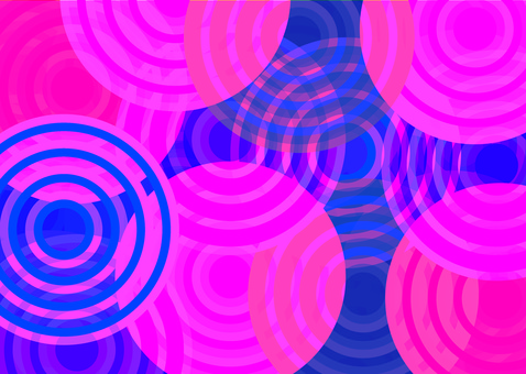 Spinning psychedelic background pink cover