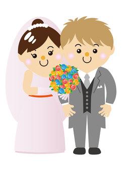 30_06 for men and women (wedding, groom, bride)