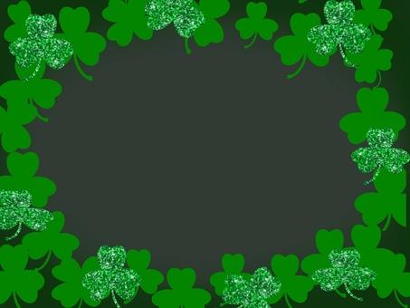 St Patrick's Day black background