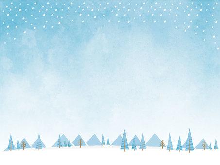 冬の背景素材(png/jpeg文字無)