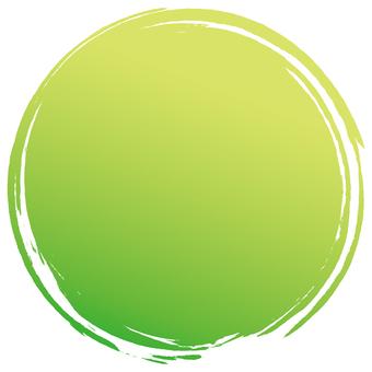 Pen Maru _ green moe yellow grada _ v 8