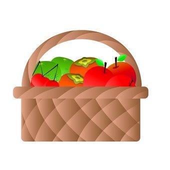 Heaps of fruit baskets