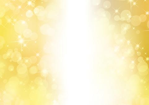 Gold sparkling 18