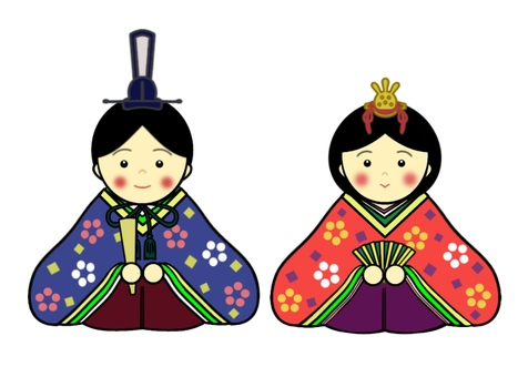 Hinamatsuri illustration②