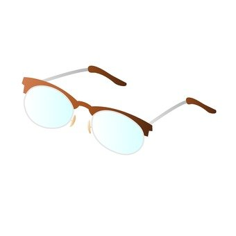 Reading glasses _ Brown