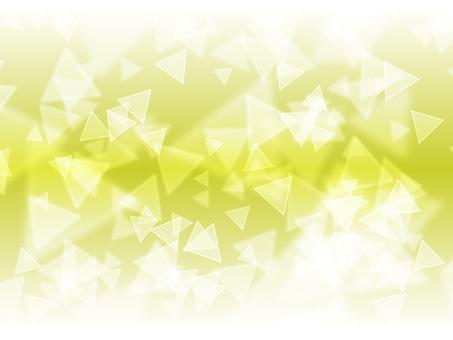 삼각형의 빛 연두색
