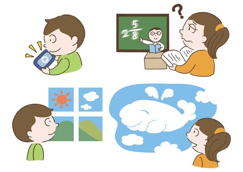 Eye strain eyesight decline children smartphone