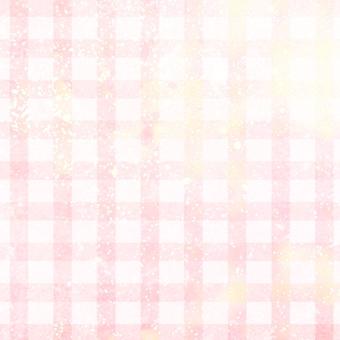 Pretty pink check
