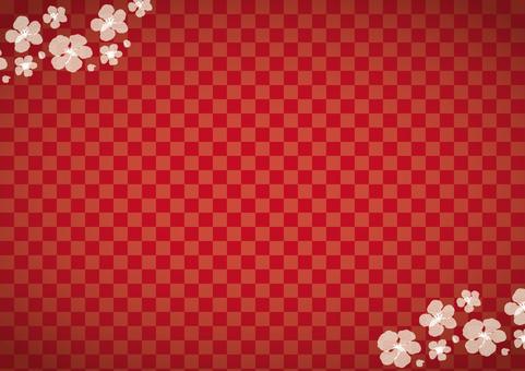 新年●红色的镰仓梅