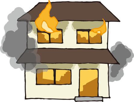 Fire (detached house)