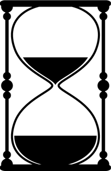 Hourglass silhouette 1