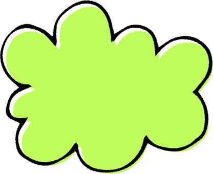 Speech yellowish green