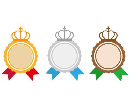 Crown medals