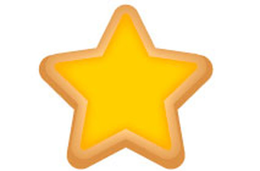 Halloween Star Cookie