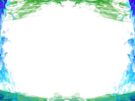 Green effect frame